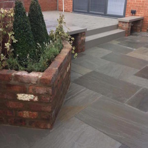 Pavement grey sandstone