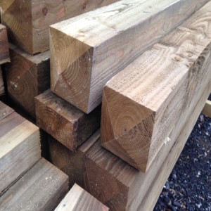 Pressure-treated FSC timber