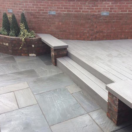 Composite decking York - Paul Cox Landscaping
