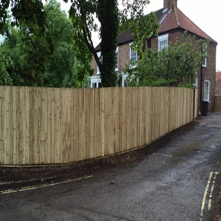 Timber Fencing York Paul Cox Landscaping