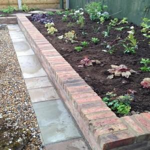 'Cottage garden' perennial border