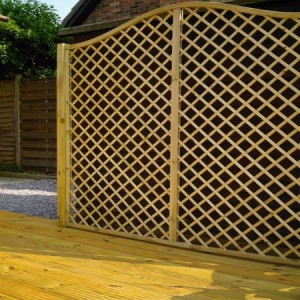 Elegant trellis screen