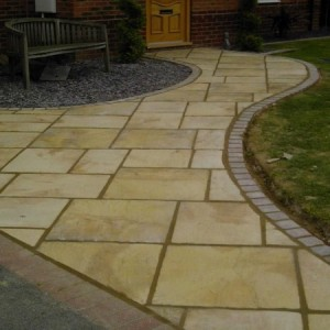 Landscape paving York