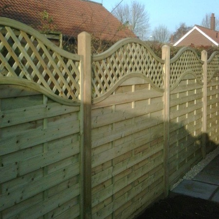 Timber fencing York - Paul Cox Landscaping