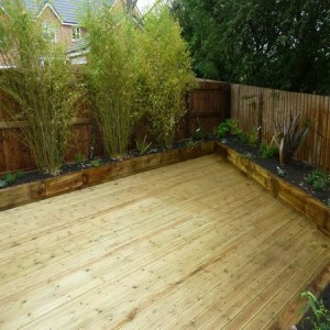 Timber decking York