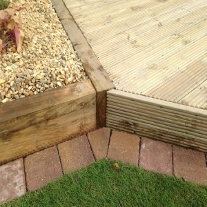 Precision decking construction