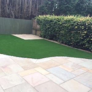 Maintenance-free garden