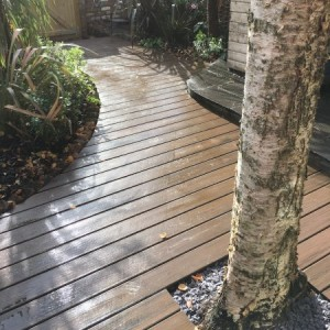 Trex decking cut to fit